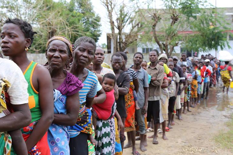 Moçambique tem 128 mil pessoas em abrigos improvisados e corre risco de epidemias