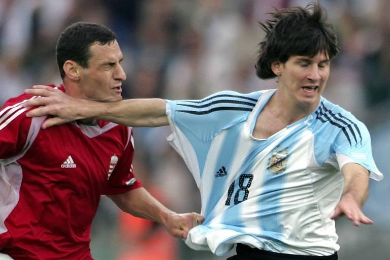 Fracassos e dramas da geração Messi na Argentina