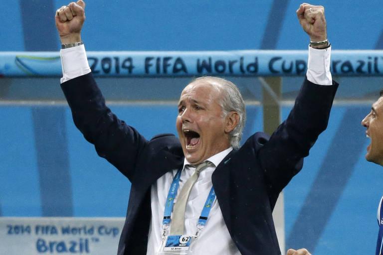 Com Sabella, Argentina foi à final da Copa do Mundo, o que não alcançava desde 1990