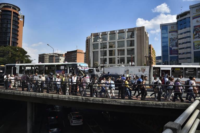 Novo apagão na Venezuela