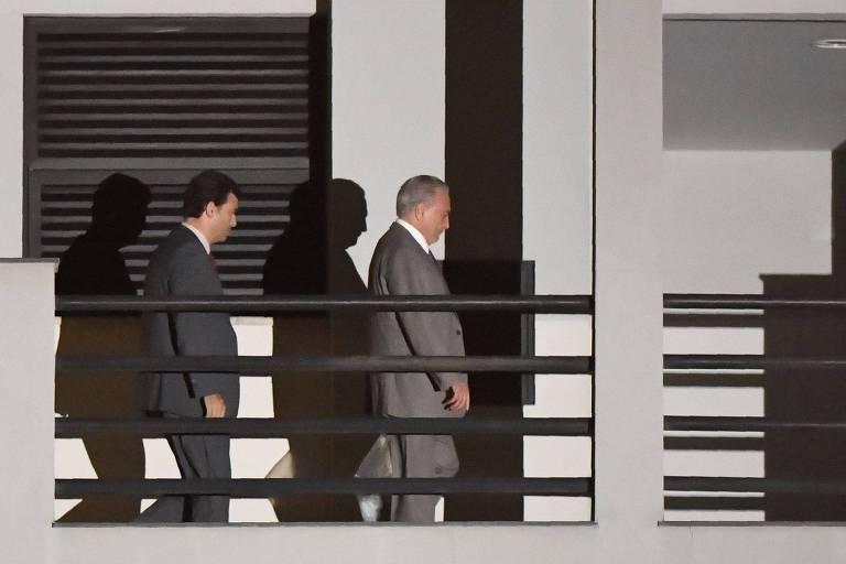 Prisão de Michel Temer, em 2019