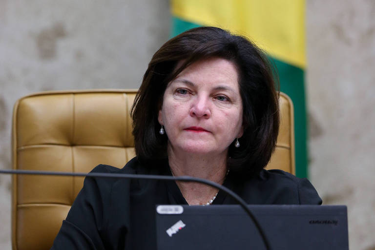 A procuradora-geral da República, Raquel Dodge, durante sessão plenária do STF
