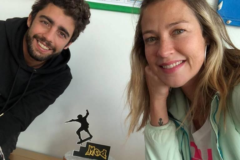 Luana Piovani e Pedro Scooby comemoram aniversário do filho Domzuco