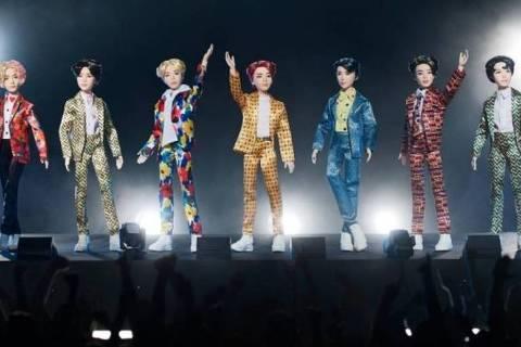 Mattel lança linha de bonecos do grupo K-pop BTS