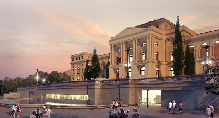 Restauro e ampliação do Museu Paulista