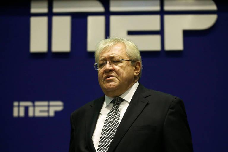 O ex-presidente do Inep, Marcus Vinícius Rodrigues