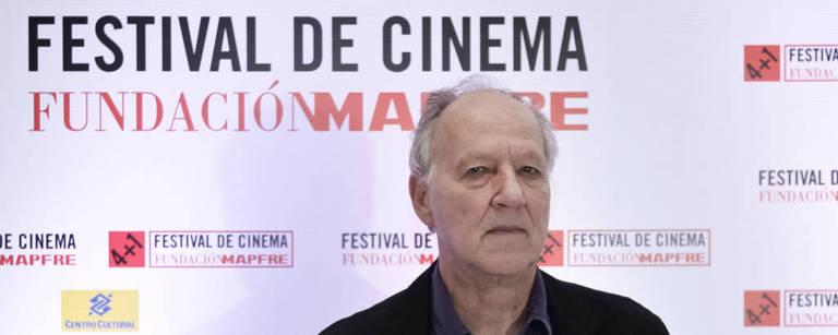 O cineasta alemão Werner Herzog