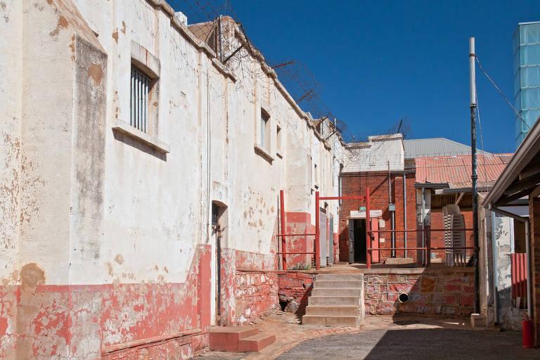 Prisão na qual Nelson Mandela foi encarcerado em Joanesburgo, África do Sul