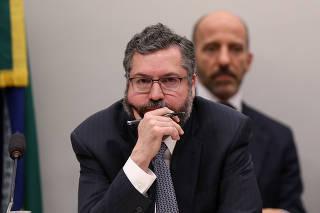 O ministro das Relações Exteriores Ernesto Araújo