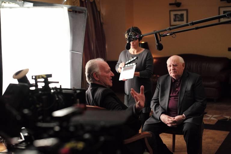 Cena do documentário 'Encontrando Gorbachev'