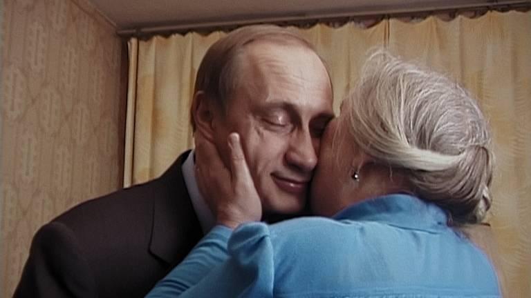 Cena do documentário 'Testemunhas de Putin'