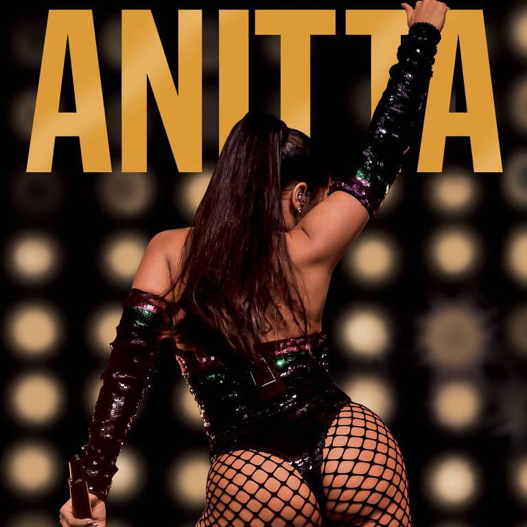 """Capa do livro """"Furacão Anitta"""", escrito por Leo Dias"""