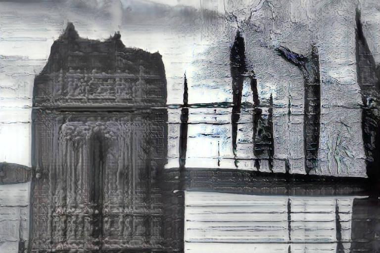 """Obra """"Deep Meditation"""" (2018), do artista Memo Akten"""