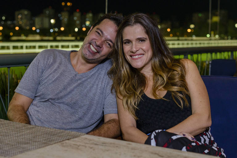 Ingrid Guimarães entrevista Bruno Mazzeo, filho de Chico Anysio, na série 'Viver do Riso'