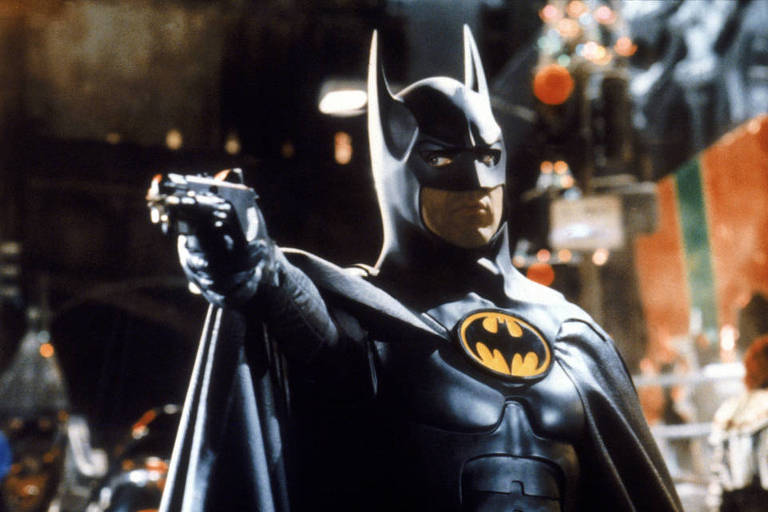 Michael Keaton interpreta 'Batman', em filme de Tim Burton de 1989