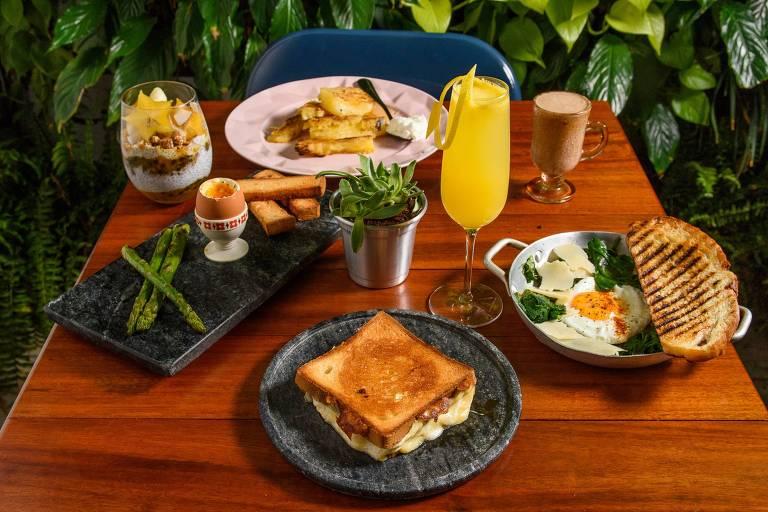 Brunch é novidade no menu do Quincho, restaurante vegetariano em Pinheiros