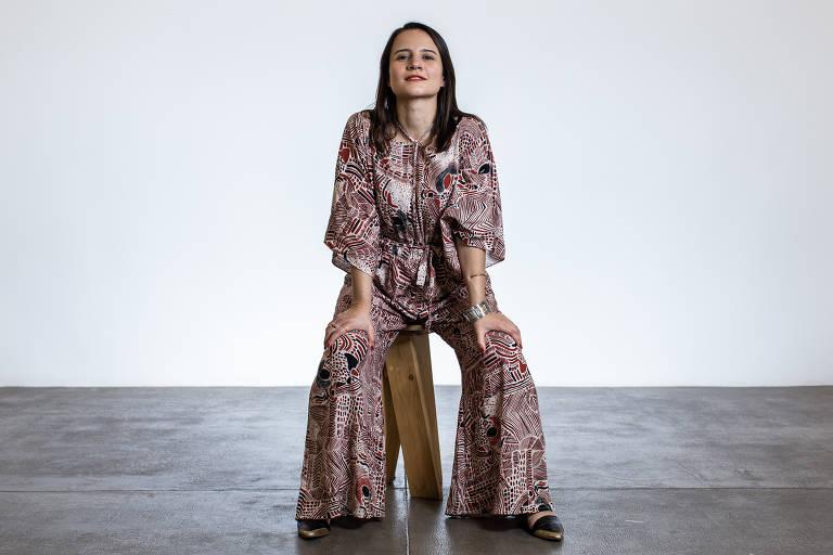 A atriz Bianca Comparato