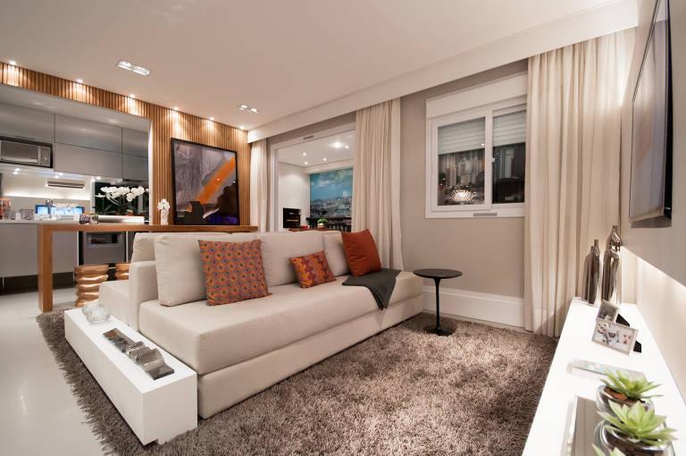 Leilão de itens de apartamentos decorados