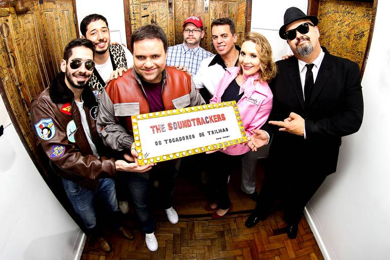 Banda The Soundtrackers toca trilhas sonoras cl�ssicas do cinema em festas de casamento