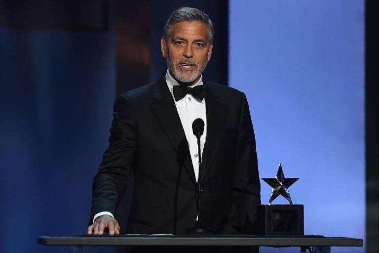 George Clooney recebe prêmio honorário do American Film Institute