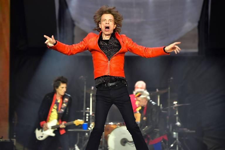 Mick Jagger faz show em Berlim em junho de 2018