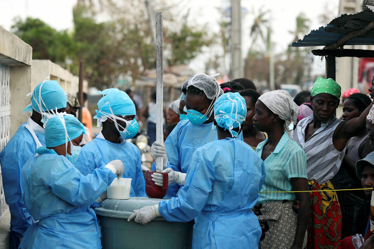 Moçambique registra 271 casos de cólera após ciclone e inundações
