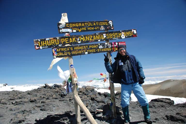 Rodrigo Raineri, alpinista com mais de 30 anos de carreira
