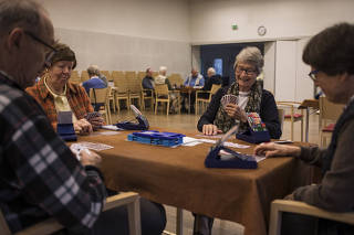 A senior citizens center in Kaunianen, Finland.