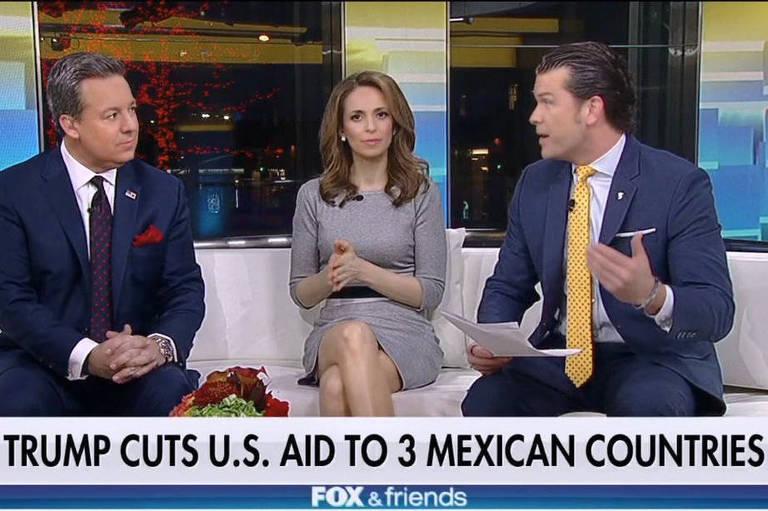 Fox News trata centro-americanos como 'países mexicanos'