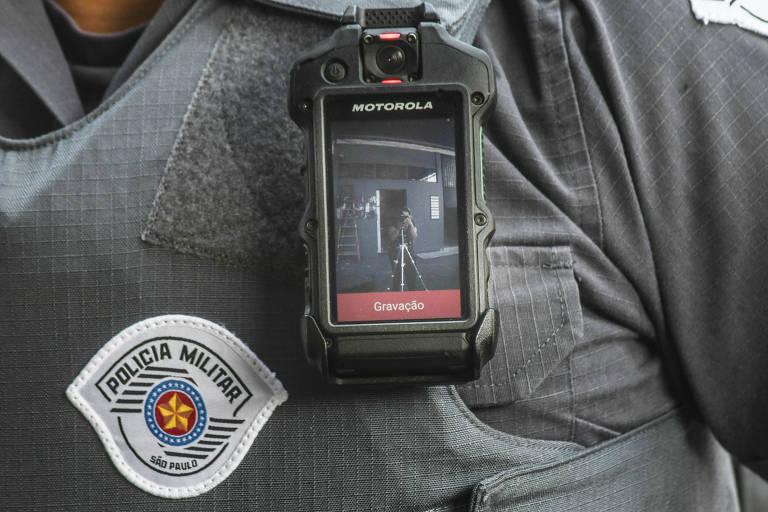Sistema de câmera no uniforme dos policiais está em teste em SP