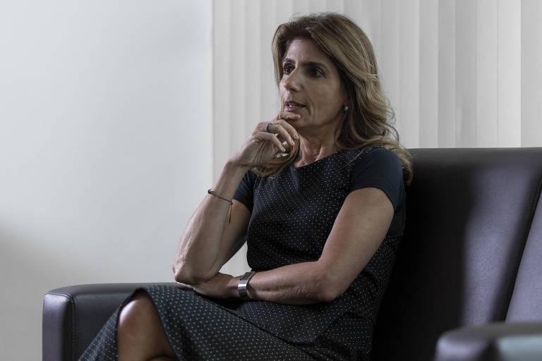 Ana Estela Haddad, mulher do ex-prefeito de São Paulo Fernando Haddad (PT)
