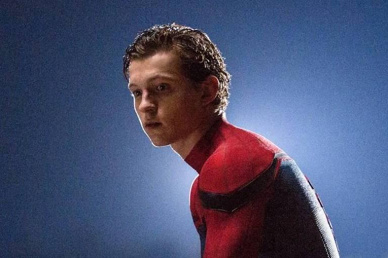 Cena de 'Homem-Aranha: De volta ao lar' com Tom Holland