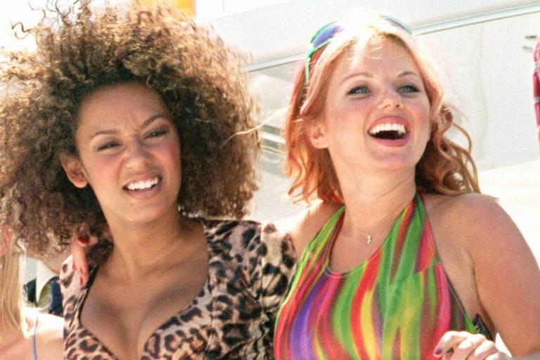 Mel.B e Gerri em Cannes