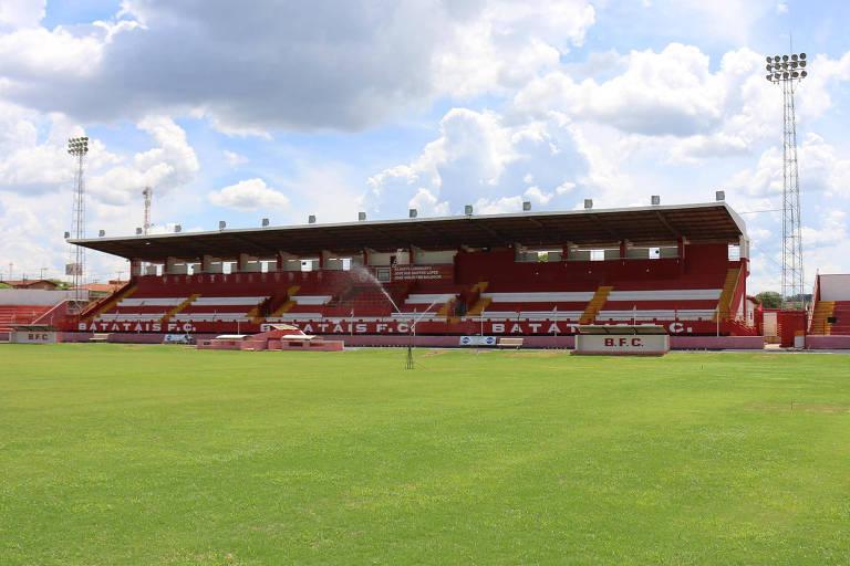 Estádio Dr. Oswaldo Scatena, casa do Batatais