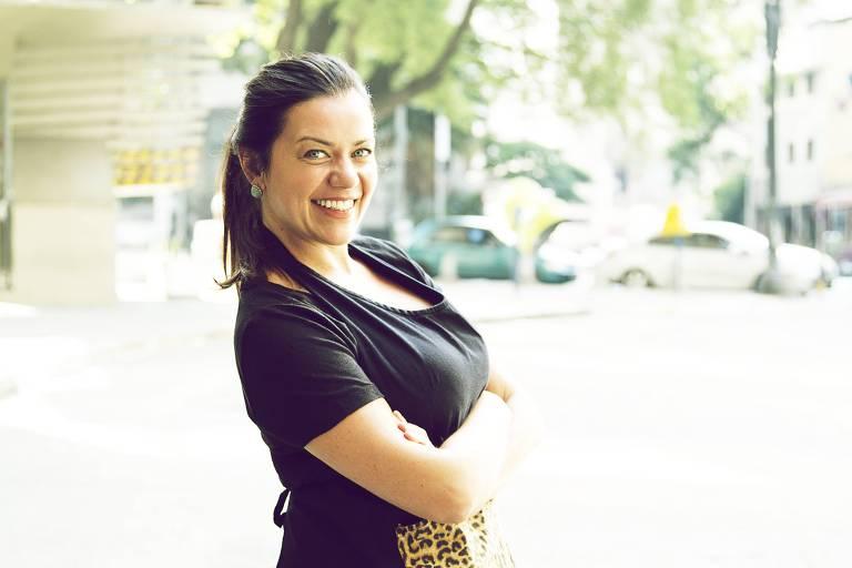A chef Janaina Rueda, uma das participantes do Food Forum