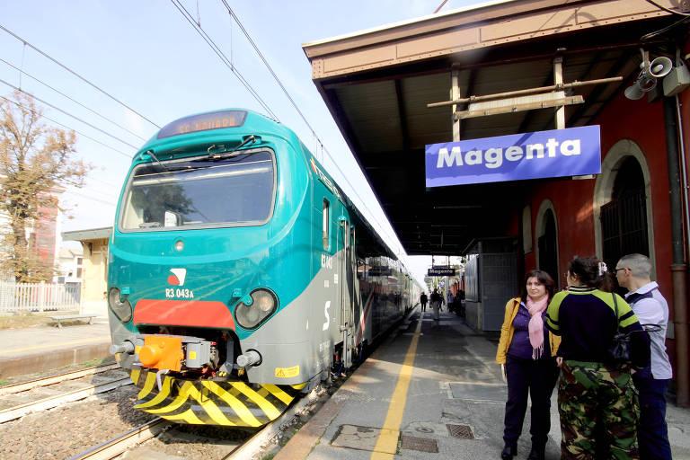 Magenta, no norte da Itália