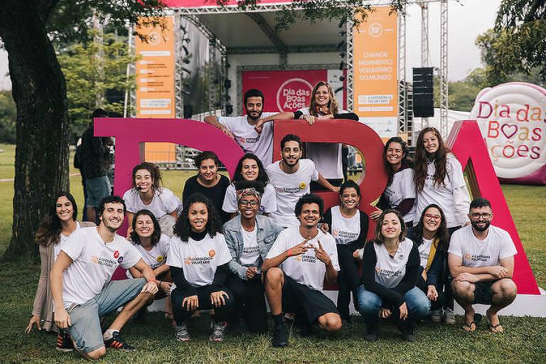 Equipe do Atados na edição 2018 do Dia das Boas Ações