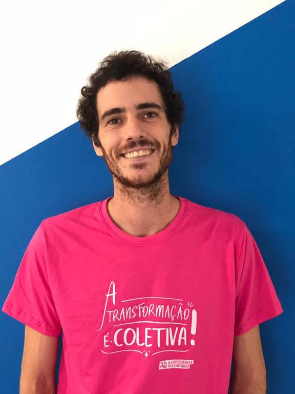 Daniel Morais, um dos fundadores do Atados