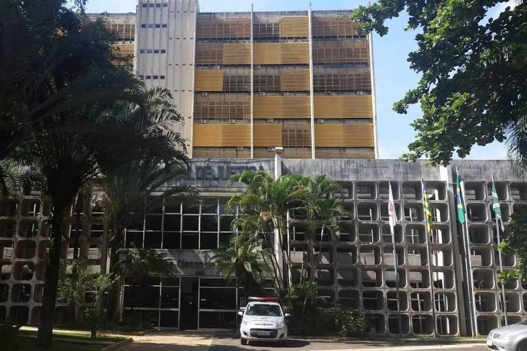 Sede do Tribunal de Justiça de Goiás