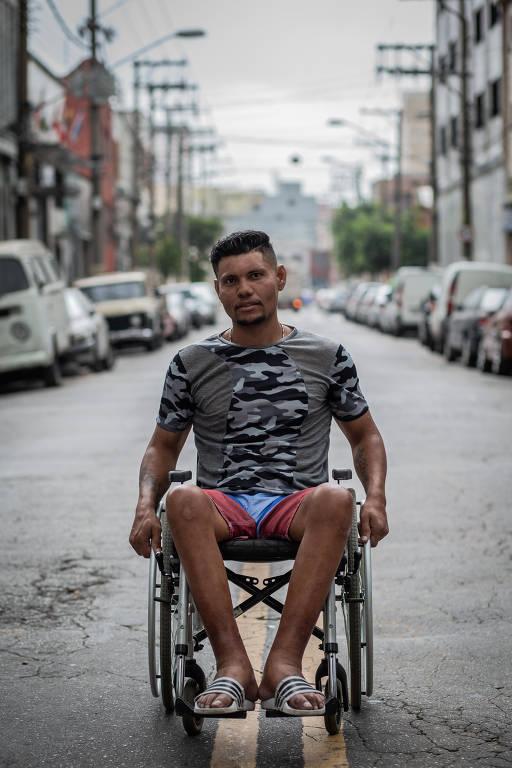 Interiorização de venezuelanos que imigraram para o Brasil