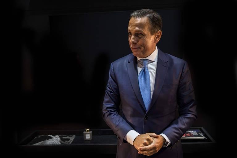 O governador de São Paulo, João Doria, que busca se consolidar como cacique nacional no PSDB