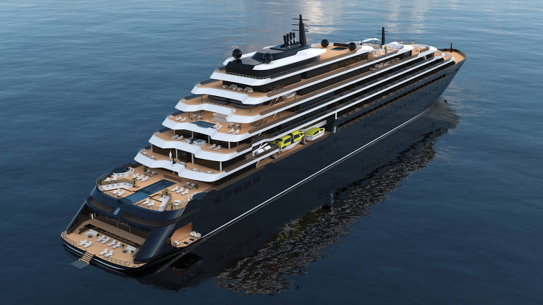 Navio Azora, da Ritz-Carlton