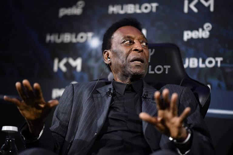 Pelé está internado em Paris por conta de uma infecção urinária