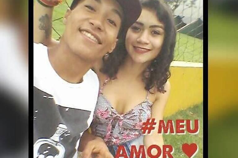 Jheniffer Cáceres de Oliveira, 17, foi morta pelo namorado, Paulo Eduardo dos Santos, 18