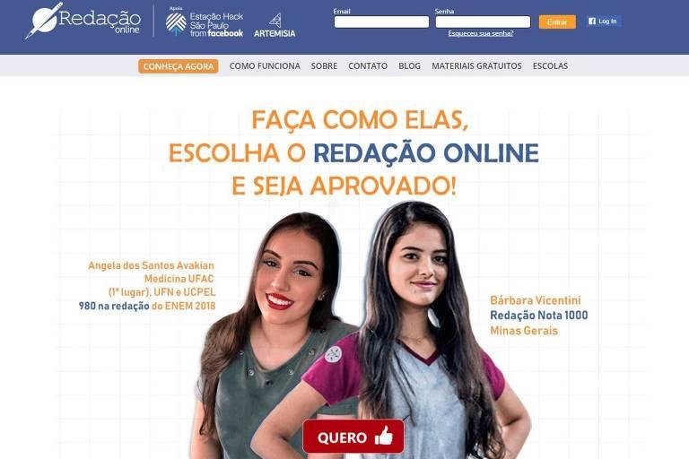 Site do Redação Online