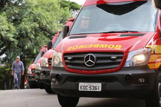 Novas viaturas para o corpo de bombeiros.