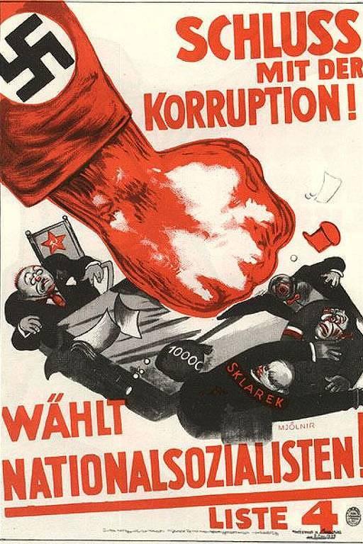 Propaganda nazista anticomunista