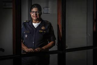 Elza Paulina de Souza, comandante da GCM