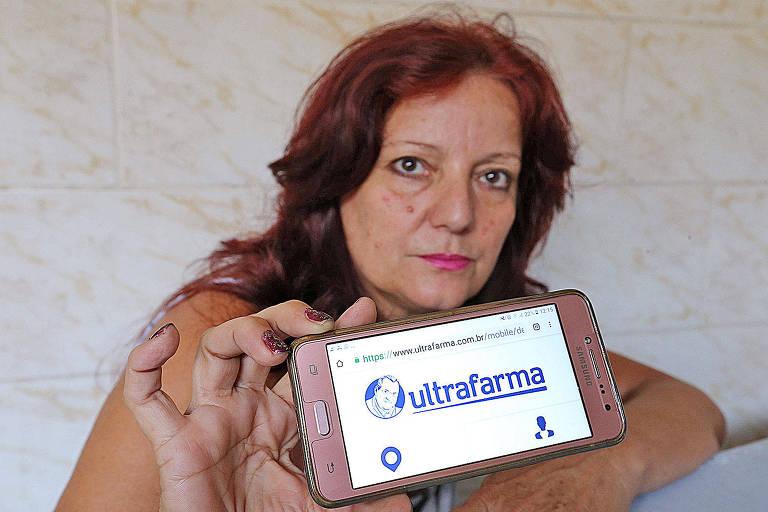 Miriam Marin reclamou na central da farmácia, mas não adiantou