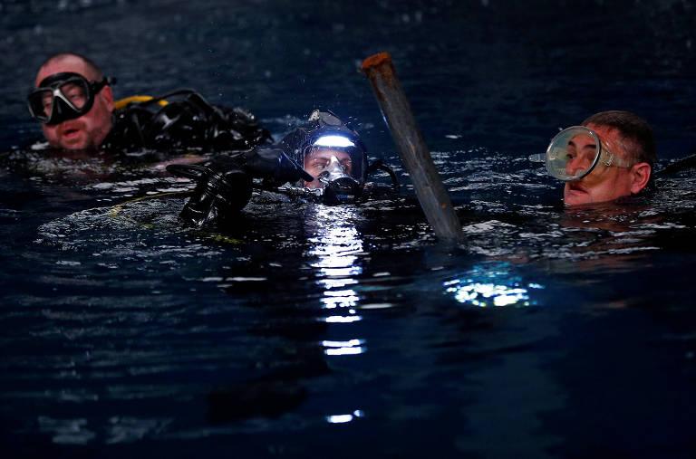Bélgica inaugura estúdio de cinema submarino a nove metros de profundidade